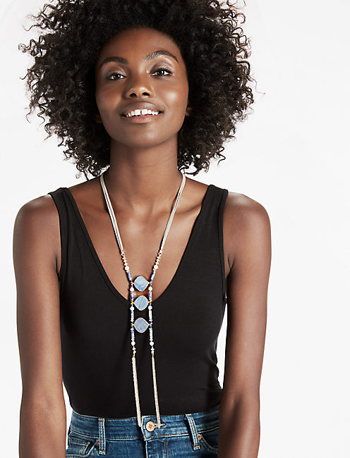 Lucky Three Stone Necklace