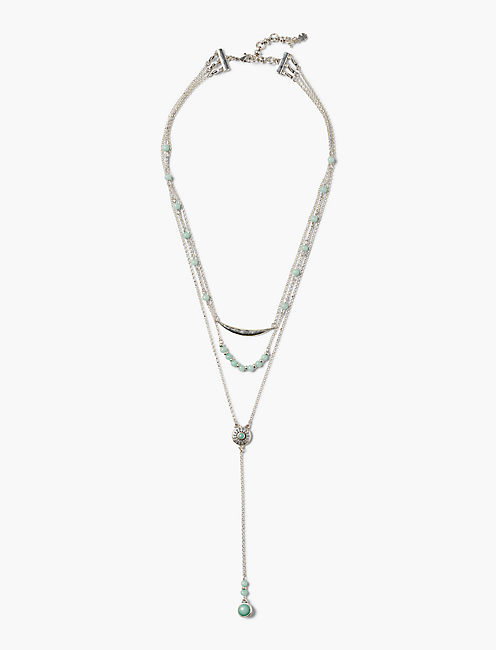 Openwork Y Necklace by Lucky Brand