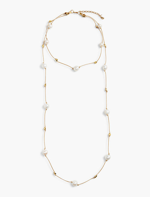 PEARL CHOKER NECKLACE,