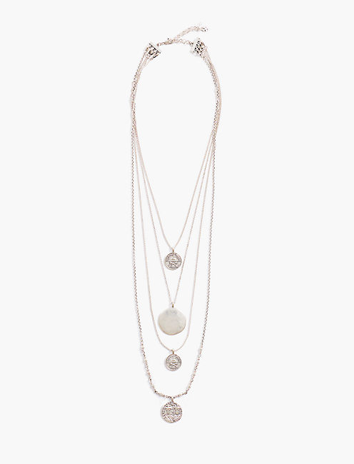 COIN LUCKY LAYER NECKLACE,