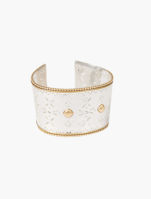 ORNATE METALWORK CUFF,