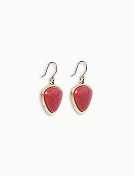 SET STONE DROP EARRING