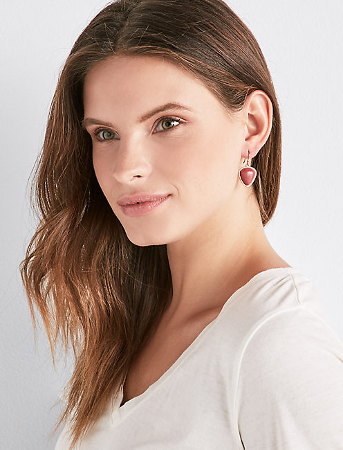 Lucky Set Stone Drop Earring