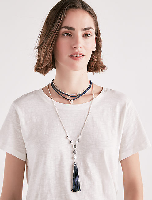 PEARL HIGH SHINE NECKLACE,