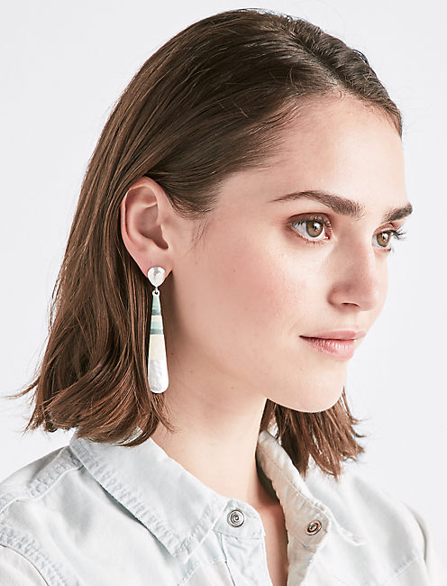 Lucky Linear Wrap Earring