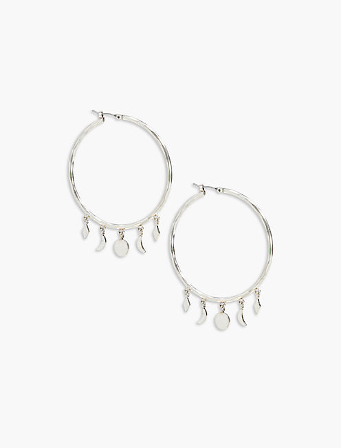 CIRCLE DANGLE HOOP,