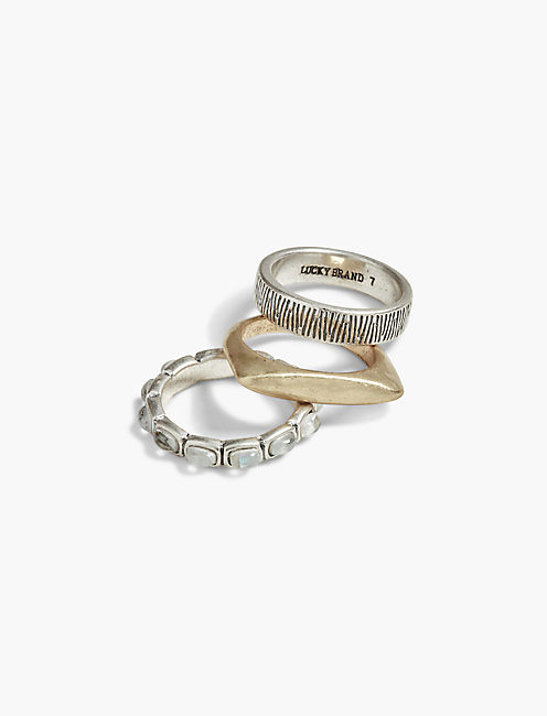 BLUE RING STACK,