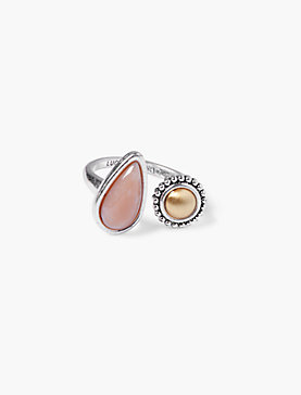 ASYMMETRICAL STONE RING