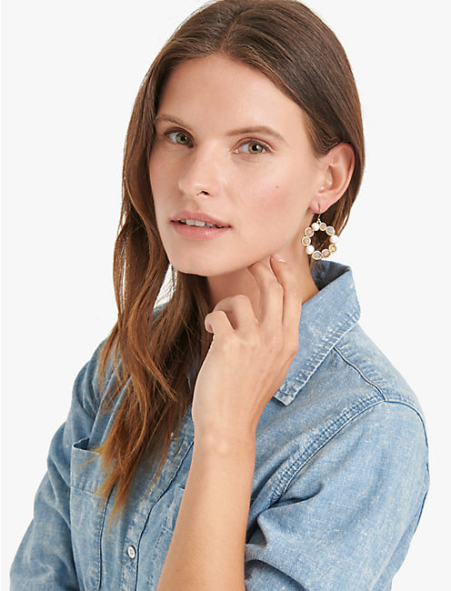 Lucky Druzy Drop Earrings