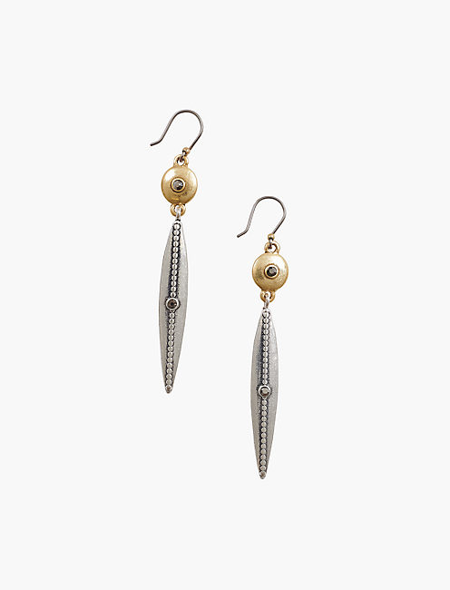 LINEAR DROP EARRINGS,
