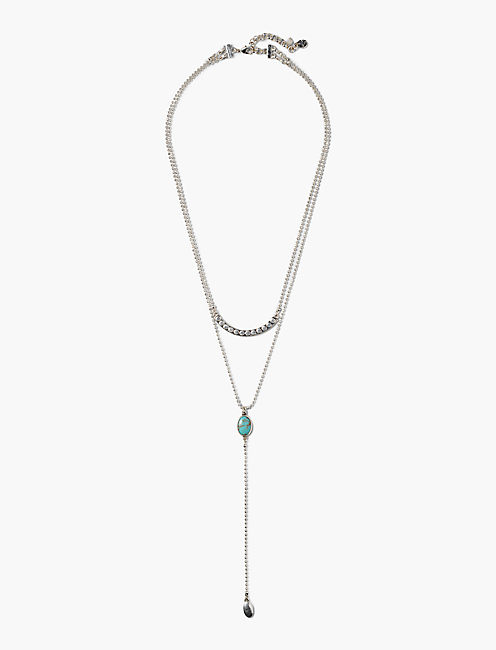 TURQUOISE LAYER NECKLACE,