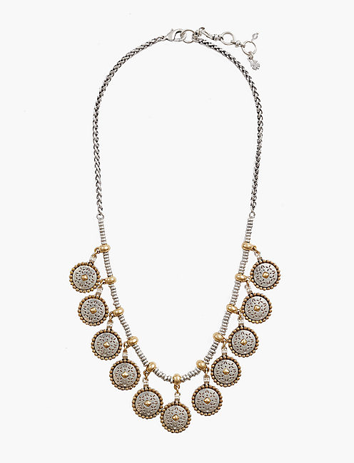 ORNATE FOLK COLLAR NECKLACE,