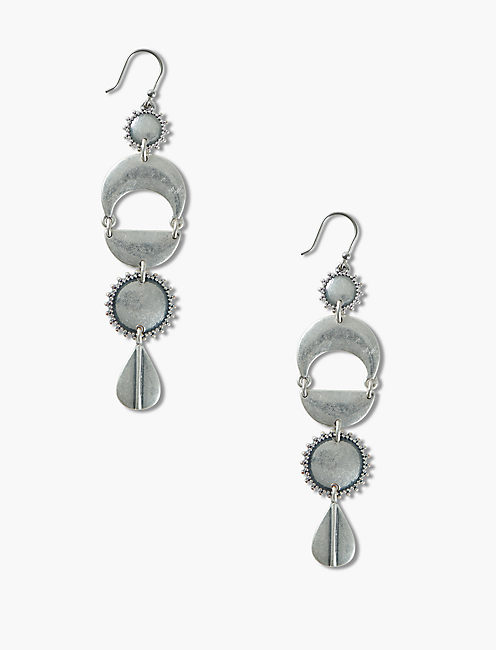 GEO STATEMENT EARRINGS,