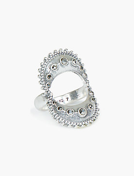 PAVE GEO STATEMENT RING