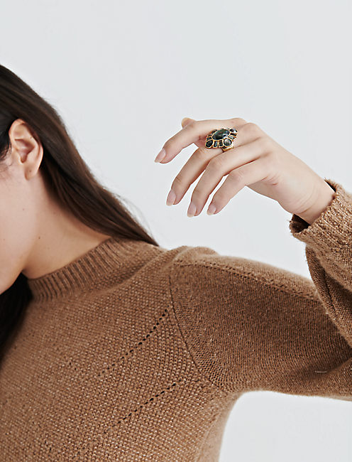 Lucky Mop Statement Ring