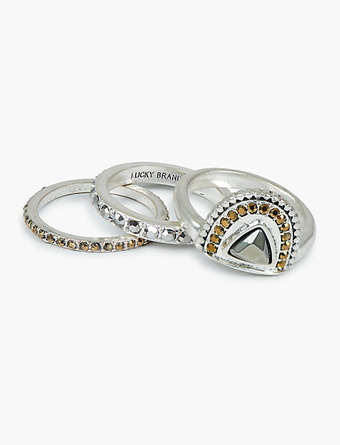 PAVE RING STACK,