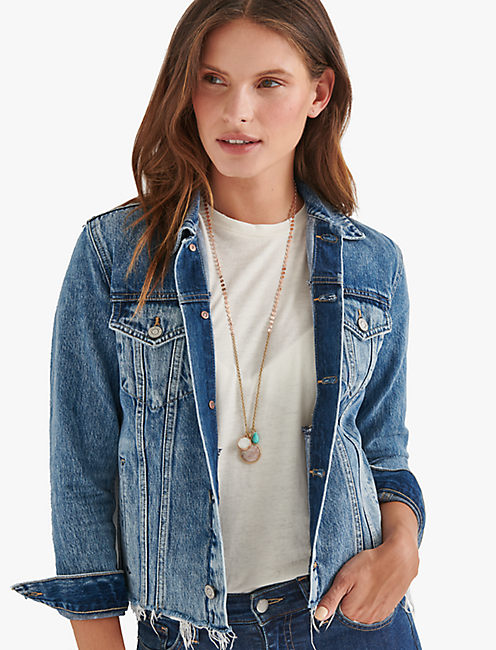 LAYER DROP NECKLACE,