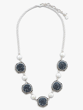 DRUZY COLLAR NECKLACE
