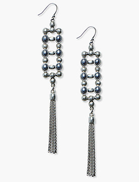 LADDER FRINGE EARRING