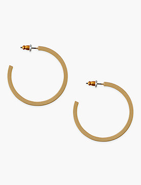 Square Hoop Gold