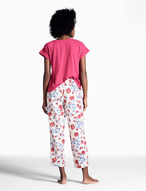 PAJAMA PANT, OPEN WHITE/NATURAL