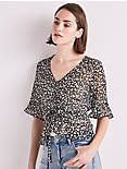 DITSY FLORAL CINCHED TOP,