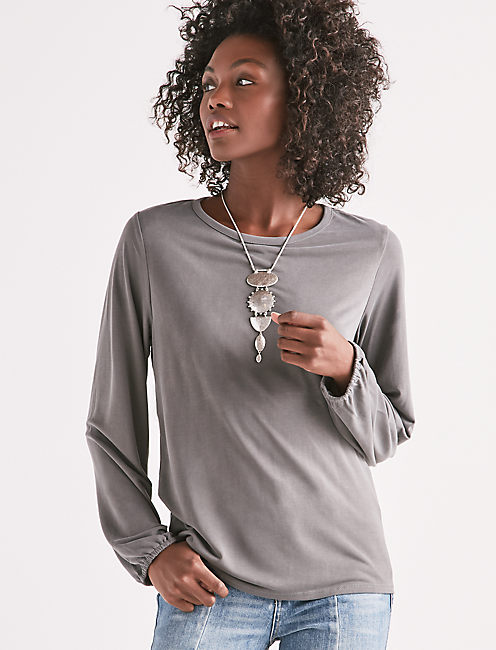 TIE BACK CUTOUT TOP, OLIVE