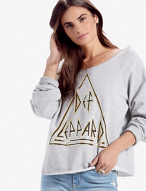 DEF LEPPARD PULLOVER,