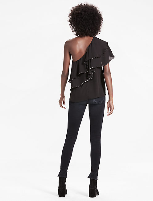 ONE SHOULDER PARTY TOP,
