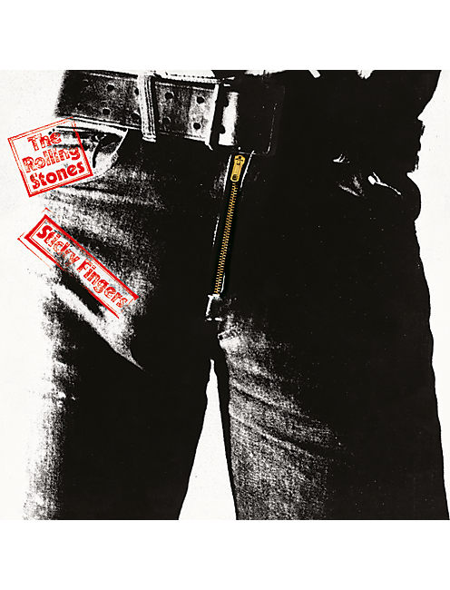 STICKY FINGERS CD, NO COLOR