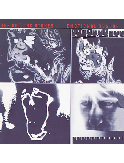 EMOTIONAL RESCUE CD, NO COLOR