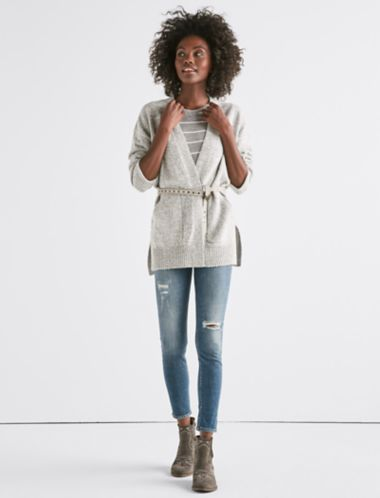 Lucky Long Sleeve Classic Cardigan