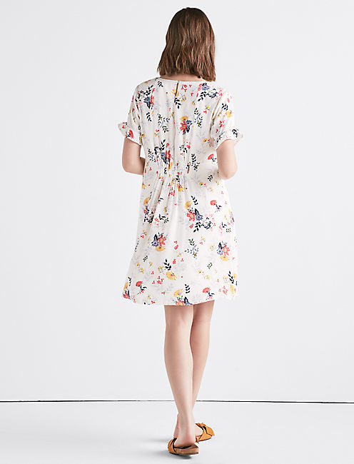 PRINTED MINI DRESS,