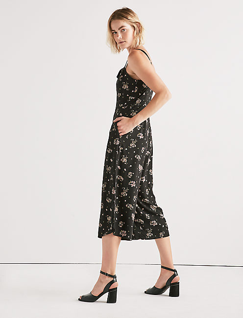 Lucky Floral Printed Jumpsuit