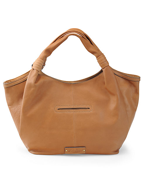 LOREDO TOTE, LIGHT BROWN