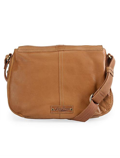 Stash Handbag Rust Brown