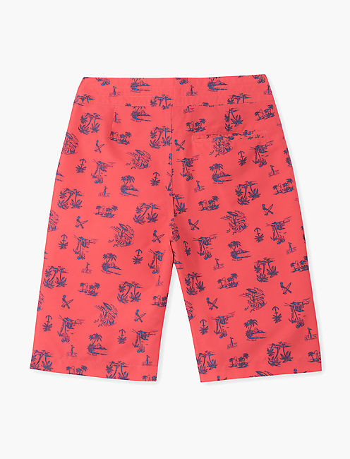 Boys 8-20 Printed Surfboard Swim