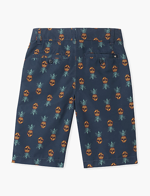 Boys 8-20 Pineapple Skull Print Swim