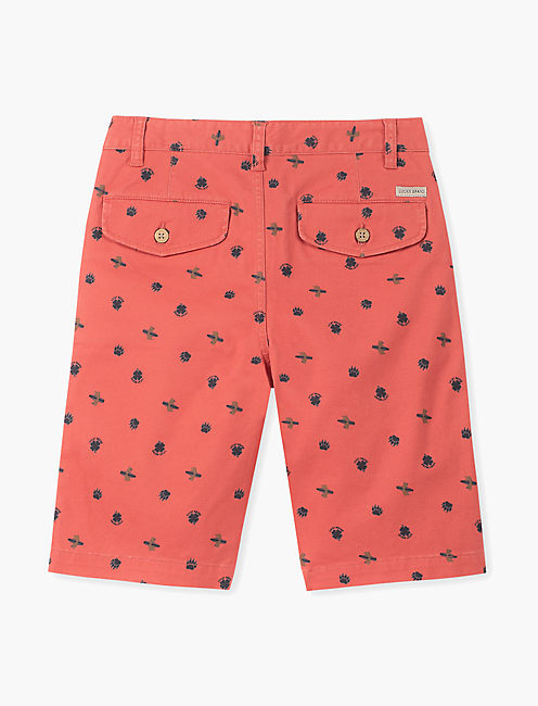 Little Boys 5-7 Printed Bear Surfer  Short
