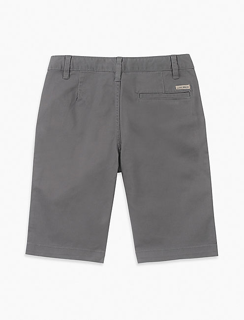 Little Boys 4/5-7 Solid Flat Front Short