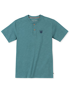 LITTLE BOYS 4/5-7 BASIC HENLEY