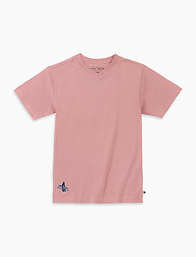 LITTLE BOYS 4/5-7 S/S VNECK TEE