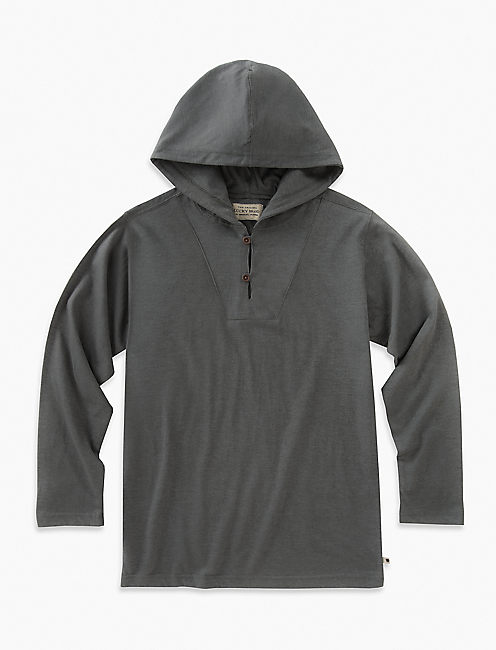 LONG SLEEVE POPOVER HOODY,