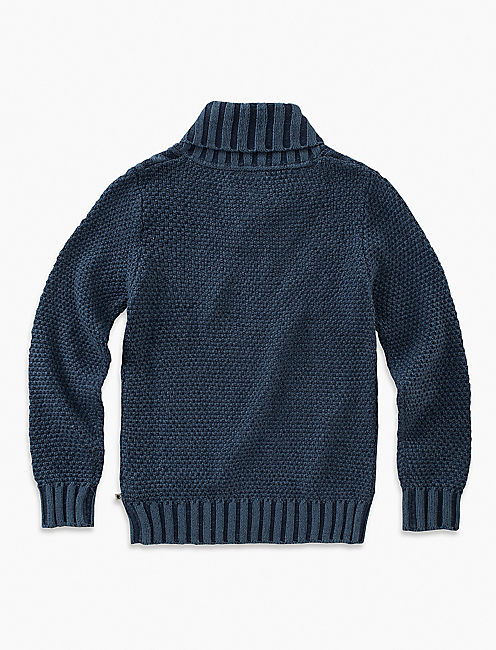 Lucky Shawl Collar Sweater