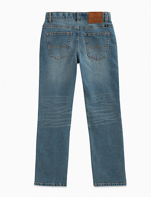 LITTLE BOYS 2T-7 5 POCKET DENIM PANT- CLASSIC STRAIGHT,