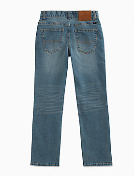 LITTLE BOYS 2T-7 5 POCKET DENIM PANT- CLASSIC STRAIGHT
