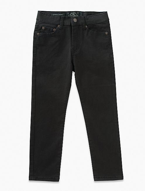 5 POCKET STRETCH TWILL PANT, BLACK