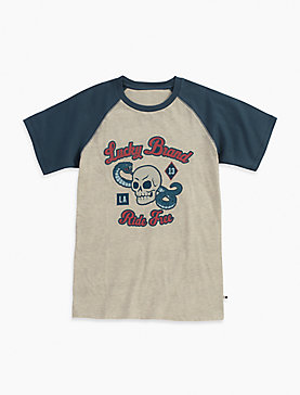 LUCKY BRAND RIDE FREE TEE