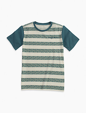STRIPE SCREEN PRINT TEE