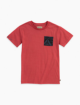 SPACED DYE POCKET TEE